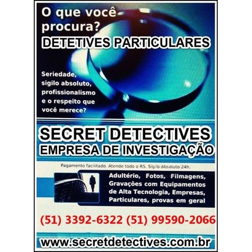 Detetives-secret Detectives Ltda