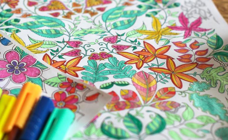 livros para colorir arteterapia antiestresse e relaxamento em